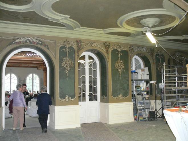 Das Schloss wird restauriert
