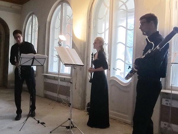 Nach dem Konzert, die Musiker -1