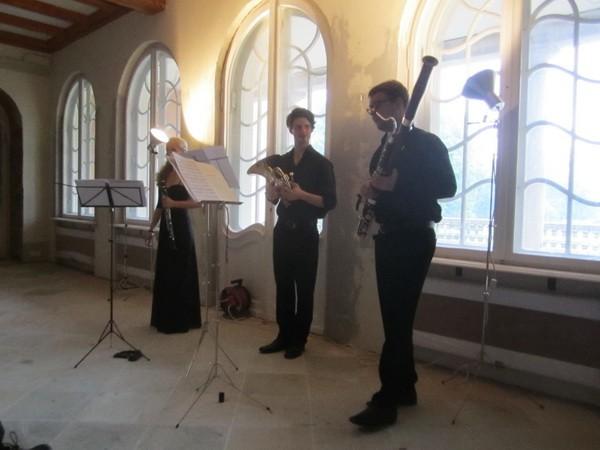 Nach dem Konzert, die Musiker -3