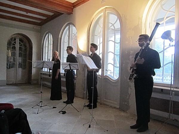 Nach dem Konzert, die Musiker -4